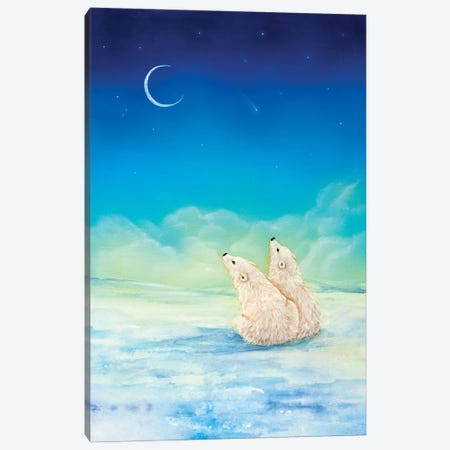 Wish Upon A Star Canvas Print #CTY21} by Cathy McClelland Canvas Artwork