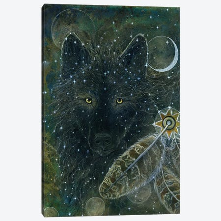 Spirit Brother Canvas Print #CTY22} by Cathy McClelland Canvas Artwork