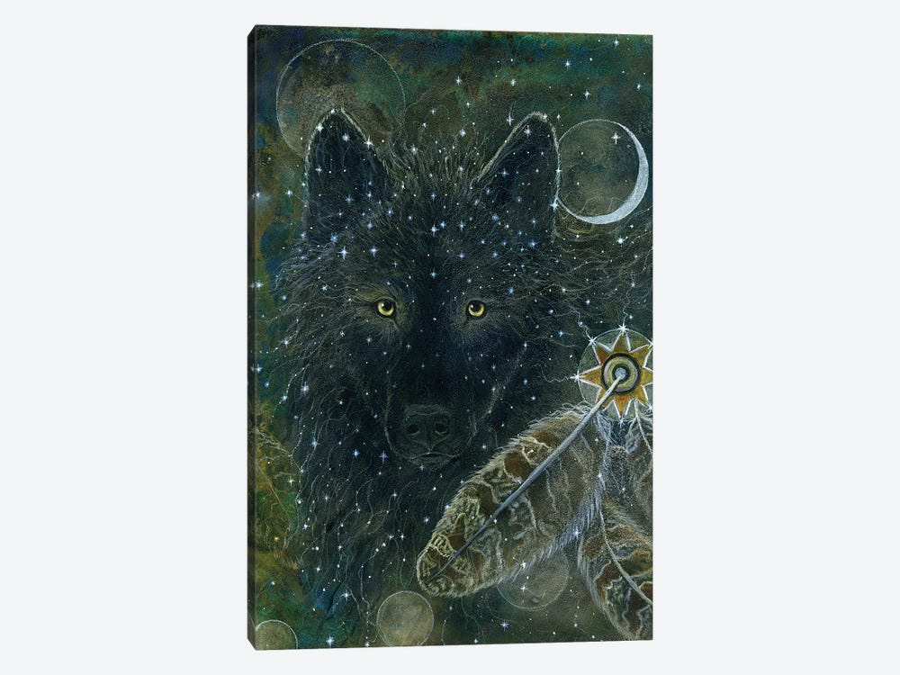 Spirit Brother by Cathy McClelland 1-piece Canvas Artwork