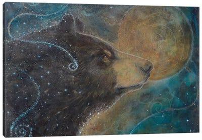 Cosmic Memory Canvas Art Print