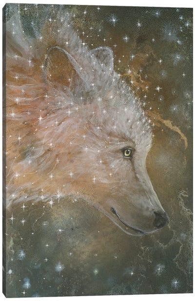 Star Wolf Canvas Art Print