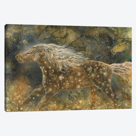 Spirit Run Canvas Print #CTY29} by Cathy McClelland Canvas Art