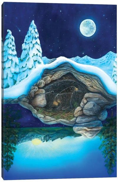Bear Dreams Canvas Art Print