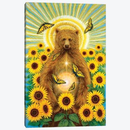 Sun Bear Canvas Print #CTY7} by Cathy McClelland Canvas Art