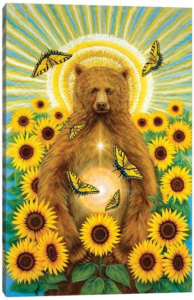 Sun Bear Canvas Art Print