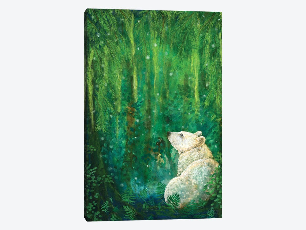 Land Of The Spirit Bear by Cathy McClelland 1-piece Canvas Art