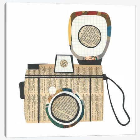 Camera Canvas Print #CTZ10} by Paper Cutz Canvas Wall Art