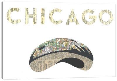 Chicago Bean Canvas Art Print