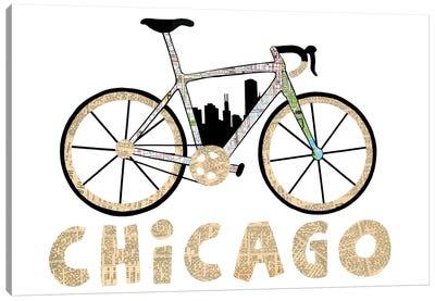 Chicago Bike Canvas Art Print