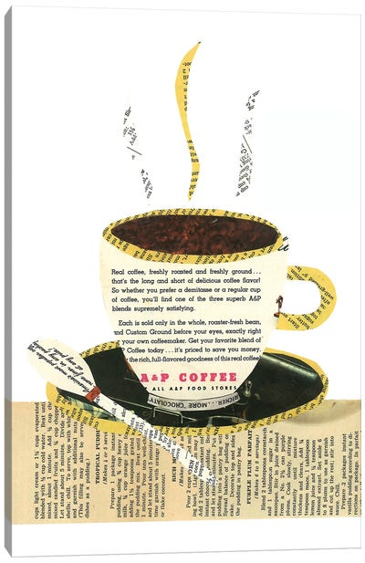 Coffee Cup Canvas Art Print