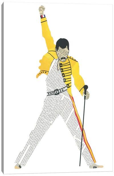Freddie Canvas Art Print