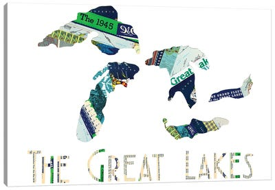 Great Lakes Canvas Art Print