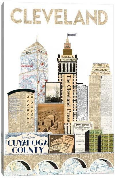 Cleveland Skyline Special Edition Canvas Art Print