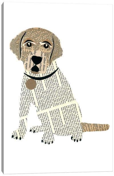 Labrador Canvas Art Print
