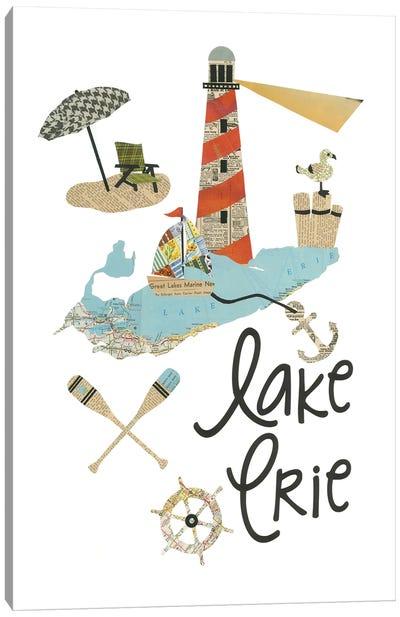Lake Erie Lighthouse Canvas Art Print