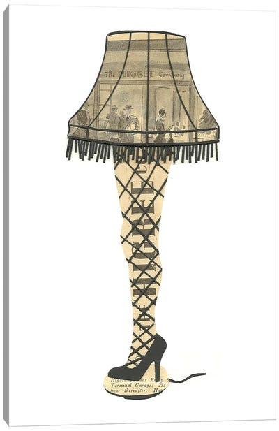 Leg Lamp Canvas Art Print