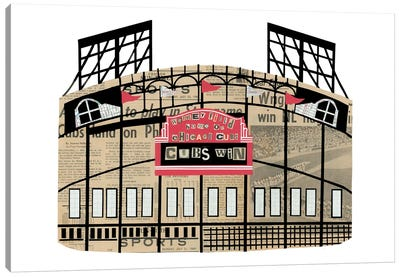 Wrigley Field Canvas Art Print
