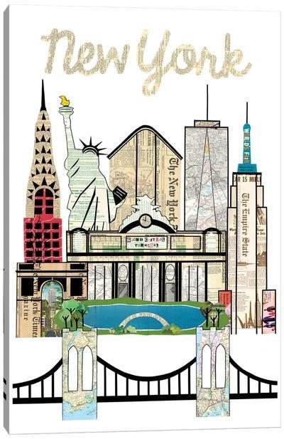 New York Skyline Canvas Art Print