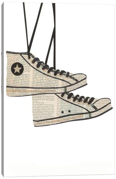 Sneakers Canvas Art Print