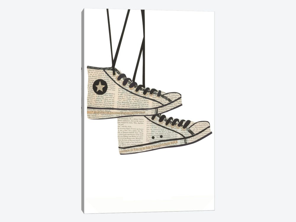 Sneakers by Paper Cutz 1-piece Canvas Artwork