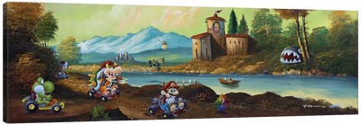 Mario Park Canvas Art Print