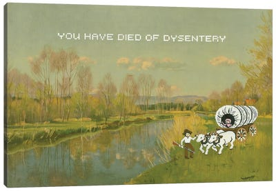 Dysentery Canvas Art Print