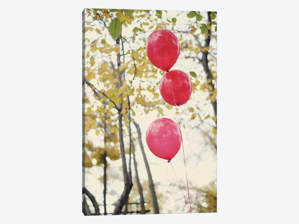 Can You See The Red Balloons by Chelsea Victoria 1-piece Art Print