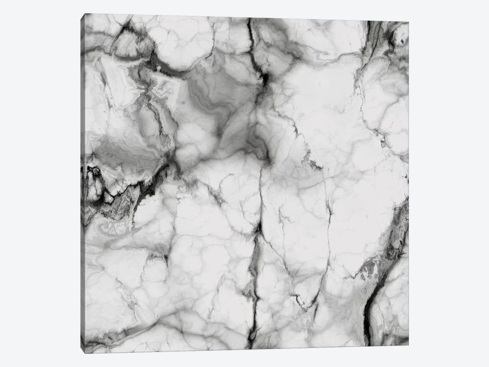 White Marble by Chelsea Victoria 1-piece Art Print