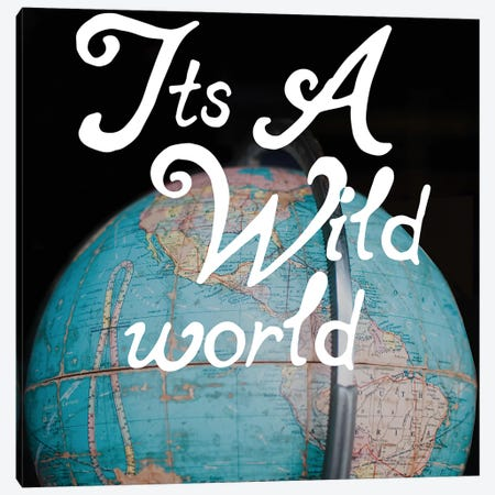 Wild World Canvas Print #CVA127} by Chelsea Victoria Canvas Wall Art