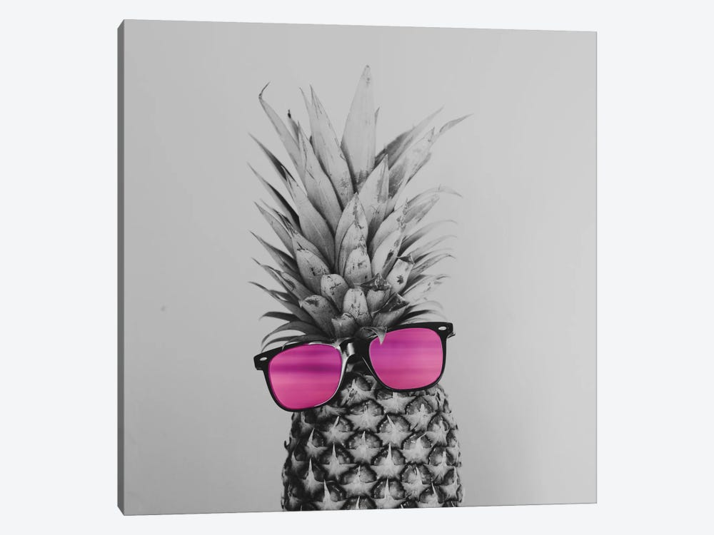 Mrs. Pineapple by Chelsea Victoria 1-piece Art Print