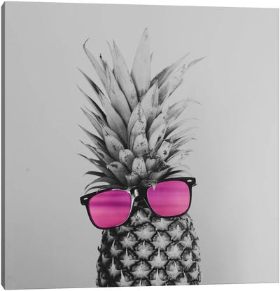 Mrs. Pineapple Canvas Art Print