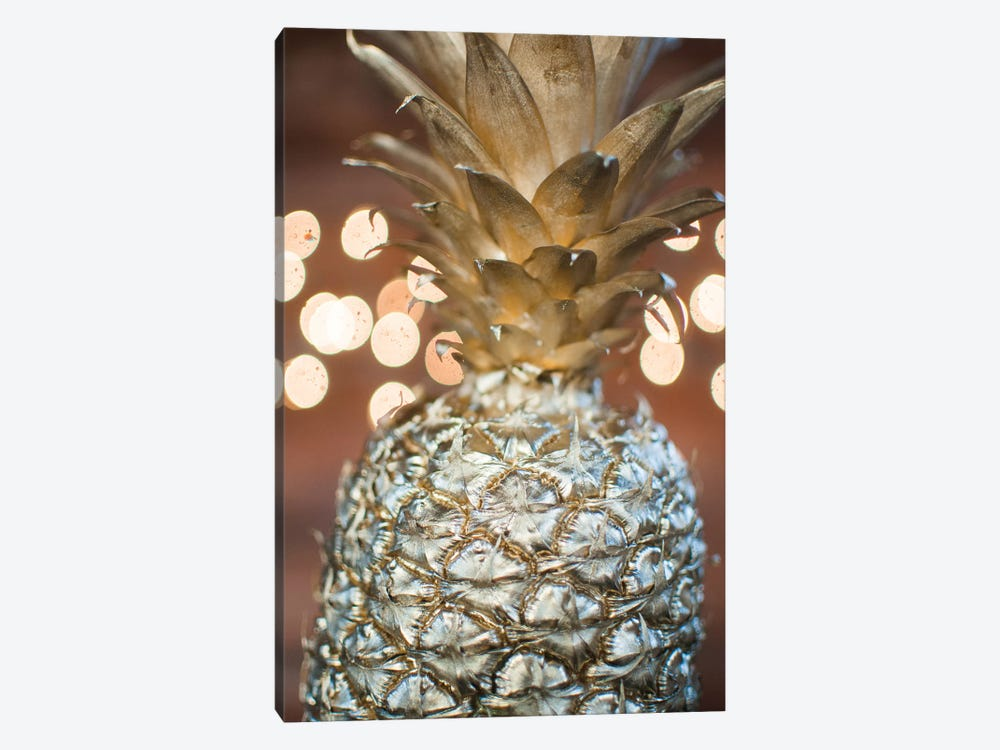 Gold Pineapple III by Chelsea Victoria 1-piece Canvas Artwork