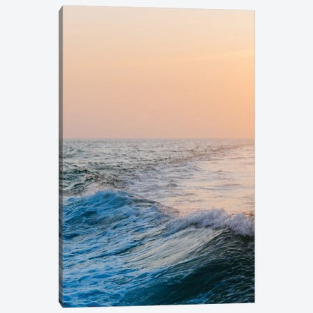Ocean Waves Canvas Print #CVA165} by Chelsea Victoria Canvas Wall Art