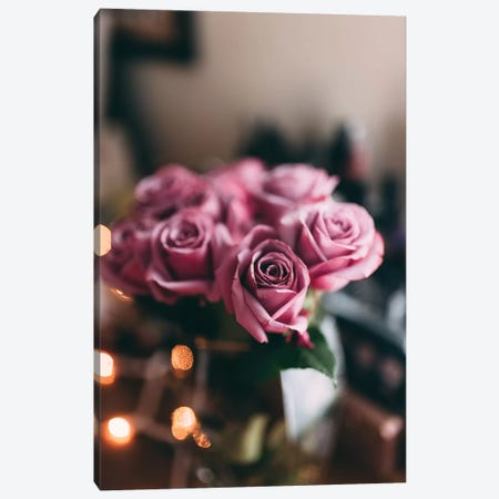Purple Roses Canvas Print #CVA187} by Chelsea Victoria Canvas Art