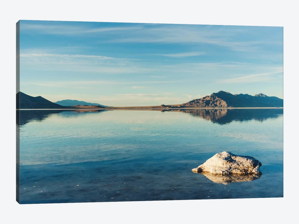 The Great Salt Lake II by Chelsea Victoria 1-piece Canvas Wall Art