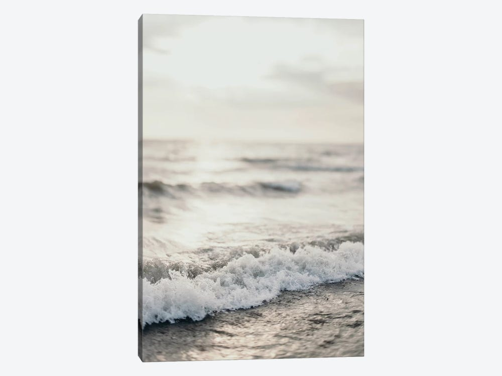 White Waves And Sky by Chelsea Victoria 1-piece Canvas Artwork