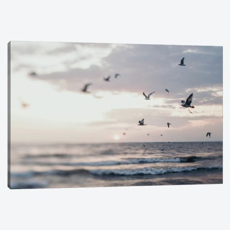 Beyond The Sea Canvas Print #CVA238} by Chelsea Victoria Canvas Print