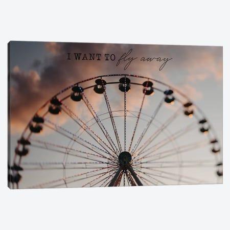 I Want To Fly Away Canvas Print #CVA250} by Chelsea Victoria Canvas Art Print