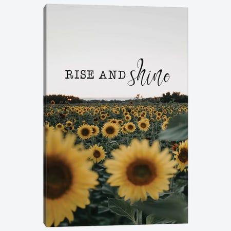 Rise And Shine Sunflowers Canvas Print #CVA251} by Chelsea Victoria Canvas Print