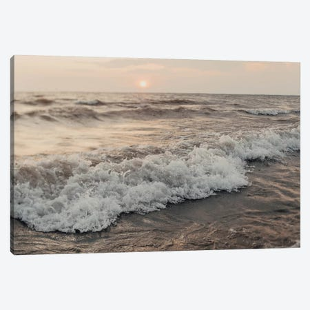 The Waves Canvas Print #CVA255} by Chelsea Victoria Canvas Artwork
