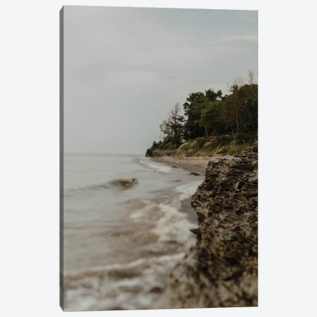Lake Erie Beach Canvas Print #CVA256} by Chelsea Victoria Canvas Art