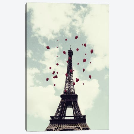 From Paris With Love Canvas Print #CVA26} by Chelsea Victoria Canvas Artwork