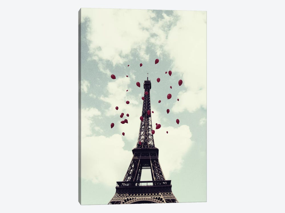 From Paris With Love by Chelsea Victoria 1-piece Canvas Art