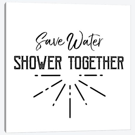 Shower Together Canvas Print #CVA272} by Chelsea Victoria Canvas Print