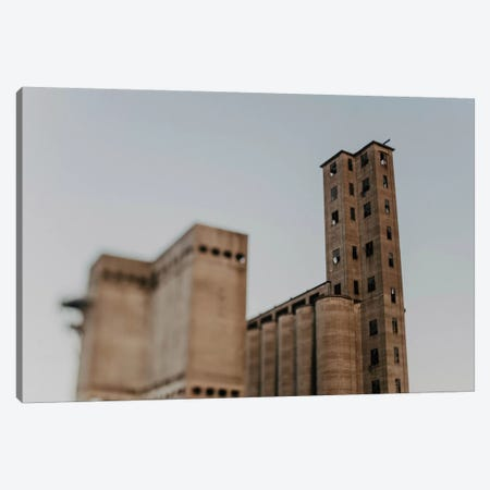 Silo City Canvas Print #CVA285} by Chelsea Victoria Canvas Art Print