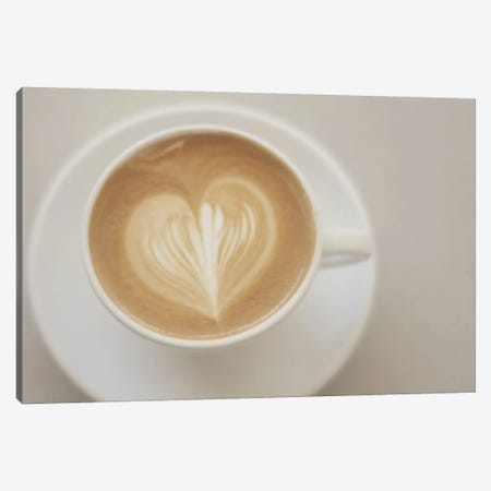 A Latte Love Canvas Print #CVA2} by Chelsea Victoria Canvas Art