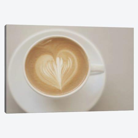 A Latte Love Canvas Print #CVA2} by Chelsea Victoria Canvas Art