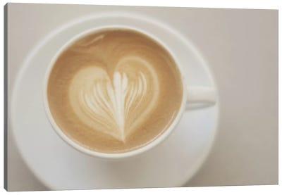 A Latte Love Canvas Art Print