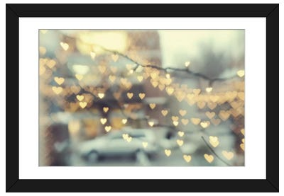 Holding Onto Love Framed Art Print