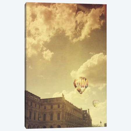 Landing At The Louvre Canvas Print #CVA41} by Chelsea Victoria Canvas Print